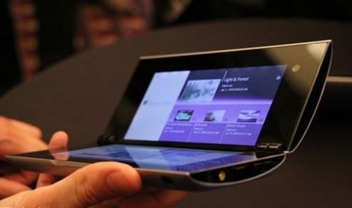 索尼双屏Android平板英国上市 翻盖设计