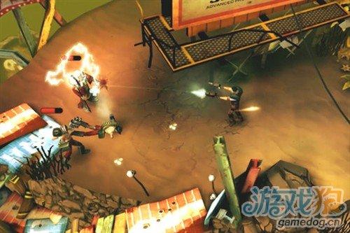华丽动作射击游戏 iPhone子弹时间HD v1.1.6评测