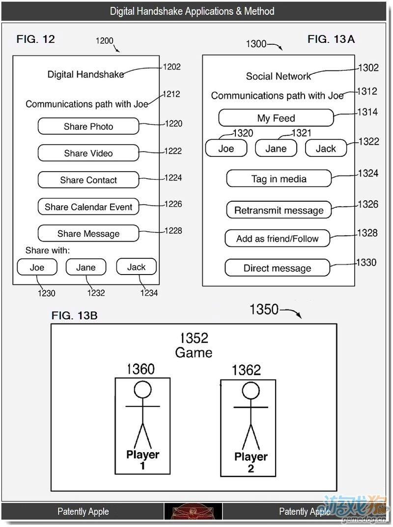 苹果新专利设备间采用数字识别快速安全连接