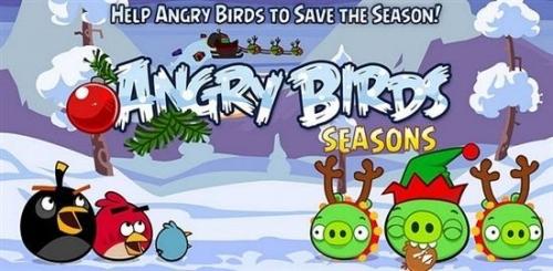 《愤怒的小鸟:季节版》圣诞节首发更新