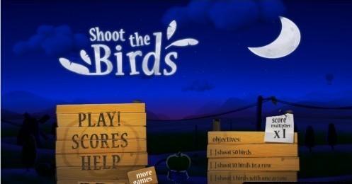 《射击小鸟Shoot the Birds》累了就来农场打小鸟