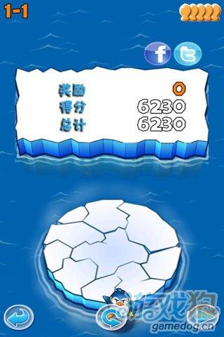 重力游戏《飞翔的企鹅》一起来躲避天敌无情的阻拦