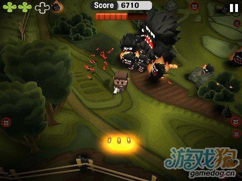 怪物大战野猪男 帮助戈尔逃离敌人猛攻