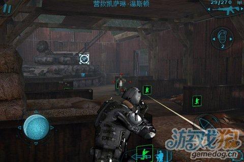 射击3D大作《彩虹六号:暗影先锋》展现精锐团队配合
