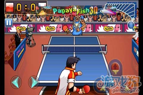 疯狂乒乓球 握紧你手中的球拍,用胜利去证明一切