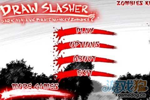 黑白红三色的日本漫画式风格《血饮狂刀》小经验