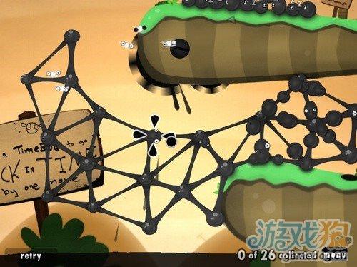 纯粹的益智游戏《粘粘世界》把建筑学融入到游戏