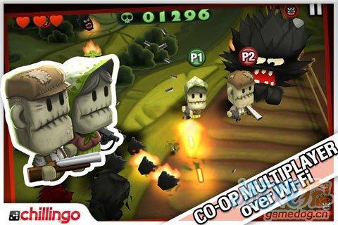 射击生存游戏《迷你戈尔》怪物大战国字脸型野猪男