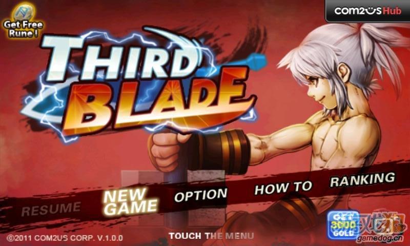 横版泡菜风格动作RPG游戏《三剑之舞 Third Blade》