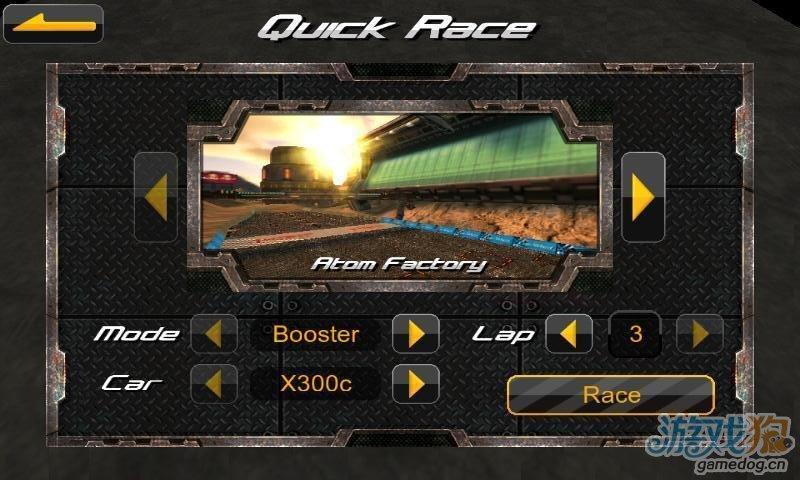 赛车时代的革命《极限方程式》体育3D竞速游戏