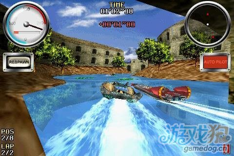 3D竞速游戏《急速赛艇》体验Android平台最棒赛艇