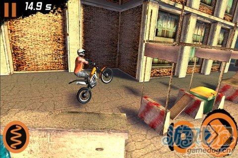 挑战车技再升级《极限摩托车2 Trial Xtreme 2 HD》