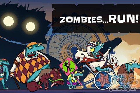 僵尸跑酷 一款以僵尸为主题的横版跑酷游戏