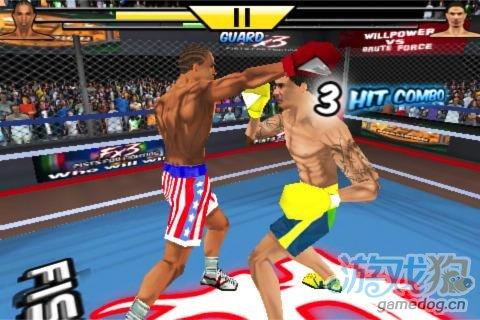 《拳击搏斗》是时候让对手来尝尝你的钢铁拳头了