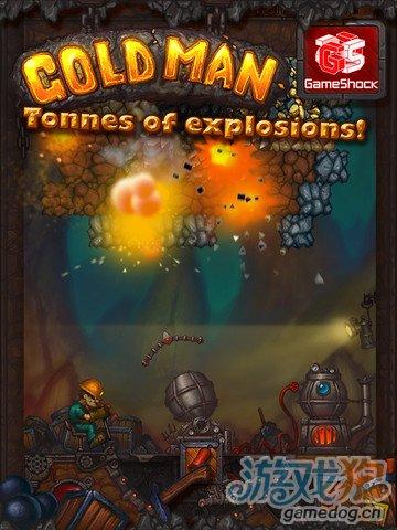 一款易让男人上瘾的iPad游戏《黄金男人 GoldMan》