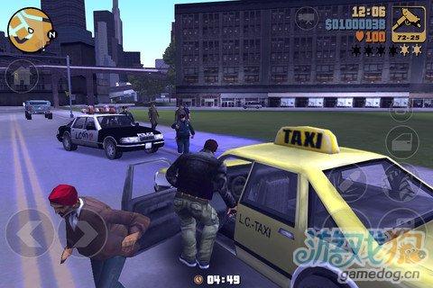 《侠盗猎车手3:十周年纪念版》终于上架iOS平台