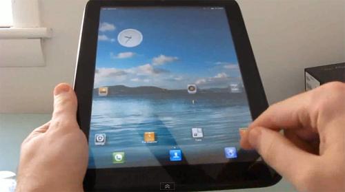 惠普 TouchPad 首次运行MIUI 基于Android 2.3的Alpha版本