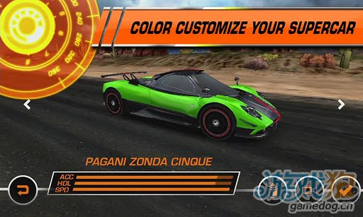 3D赛车游戏推荐《极品飞车14:热力追踪》
