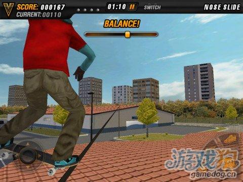 实景挑战全3D特技滑板运动游戏《迈克5:滑板党》