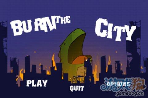 《喷火小怪兽》巨大的Q版哥斯拉袭击城市