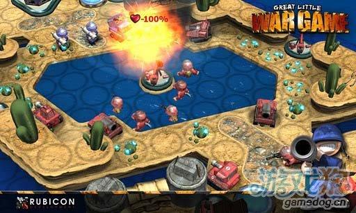 IOS移植战棋类游戏推荐《小小大战争》