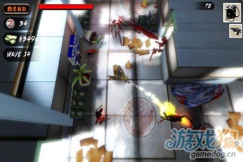 重口味动作射击游戏《死亡漩涡》恐怖的射杀