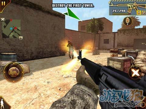 逼真的《现代战争:沙漠》带你剿灭武装恐怖分子