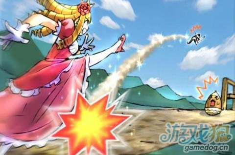 东方版类的愤怒小鸟《公主蓬特》为公主驱赶怪兽吧