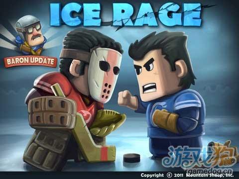 摩托男爵开发商的又3D血腥新作《热血冰球》