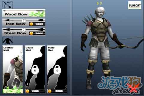 Android射击Q版游戏《3D弓箭手》养成你的罗宾汉