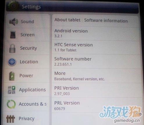 仅3G用户HTC首款平板电脑Flyer在美开始升级Android 3.2