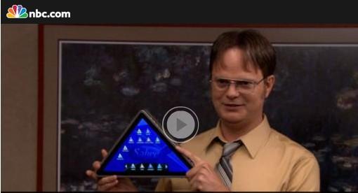 美男子有意开发三角形平板 自信销量不会差