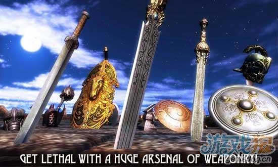 Android格斗游戏《血之荣耀》罗马角斗士的残酷战斗