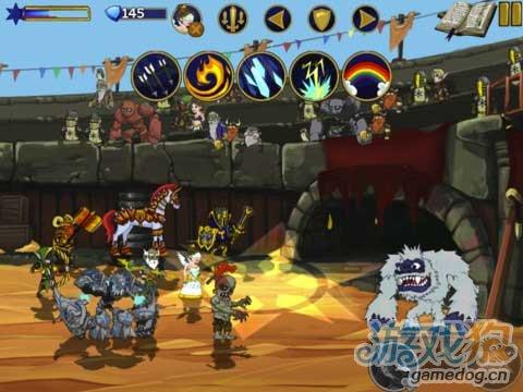 iPad热门动作RPG游戏《传奇战争》去摧毁阴间亡灵
