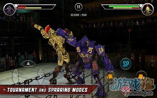 同名电影改编格斗游戏《铁甲钢拳》登录Android