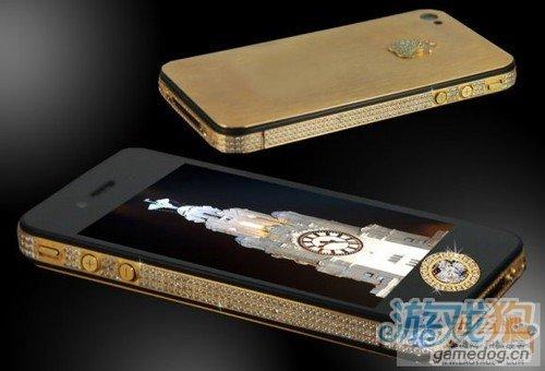 500颗钻石打造超级豪华iPhone 4S售价940万美元
