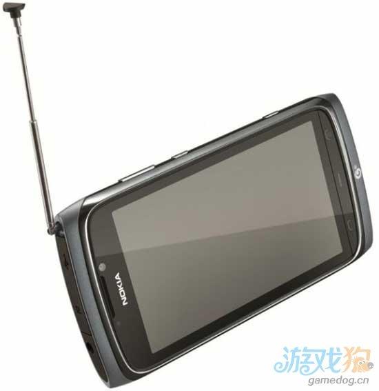 诺基亚推出支持TD-SCDMA标准的4英寸电视天线手机