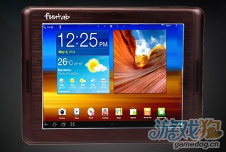全球最轻平板电脑 Funtab 9.1 Fantasy 亮相