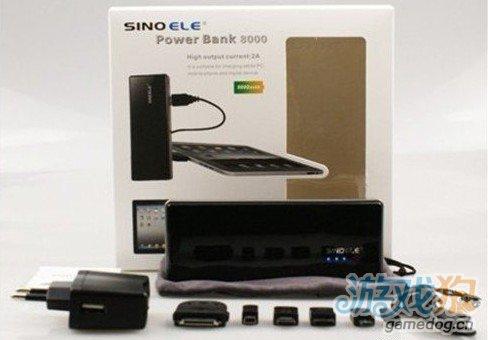 西诺电子8000毫安移动电源面世 平板电脑专用