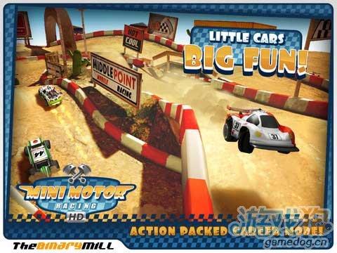 这是最有活力的赛车游戏《迷你赛车》启动你的引擎