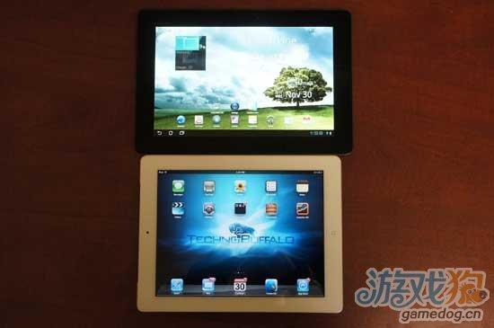 iPad2 对决 华硕 Transformer Prime
