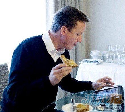 英国首相将用定制iPad应用处理事务