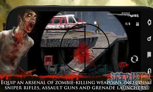 Android血腥暴力游戏《职业杀手:僵尸之城》