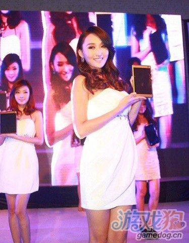 2012蓝魔音悦汇平板电脑发布会 美女图赏
