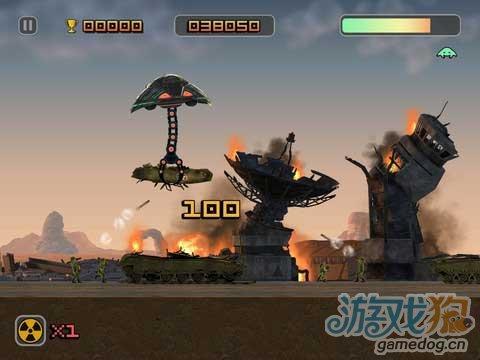 《邪恶飞船》扮演邪恶外星人 消灭人类的地球生物
