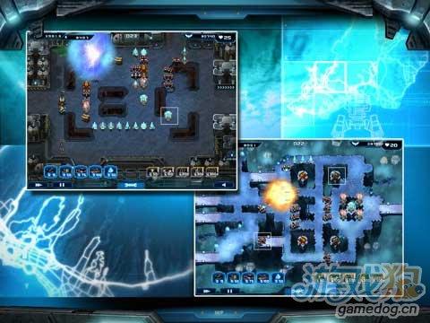 塔防类游戏《星际塔防》消灭侵略者保卫人类家园