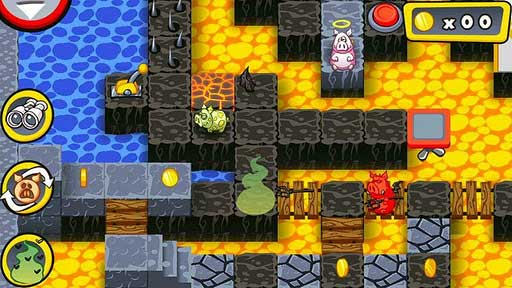 Android解谜类益智休闲游戏推荐《厄运之猪》