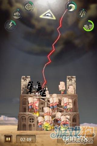 安卓休闲搞笑小游戏《创世纪之通天塔》