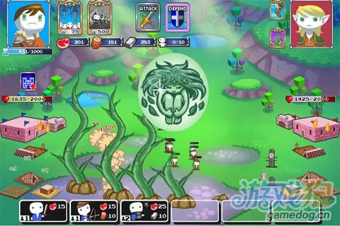 Android萌系小游戏《迷你王国》是像素还是火柴人