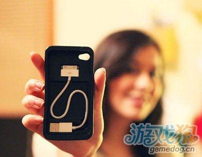 将数据线随身带 实用iPhone保护壳Cord-On-Board